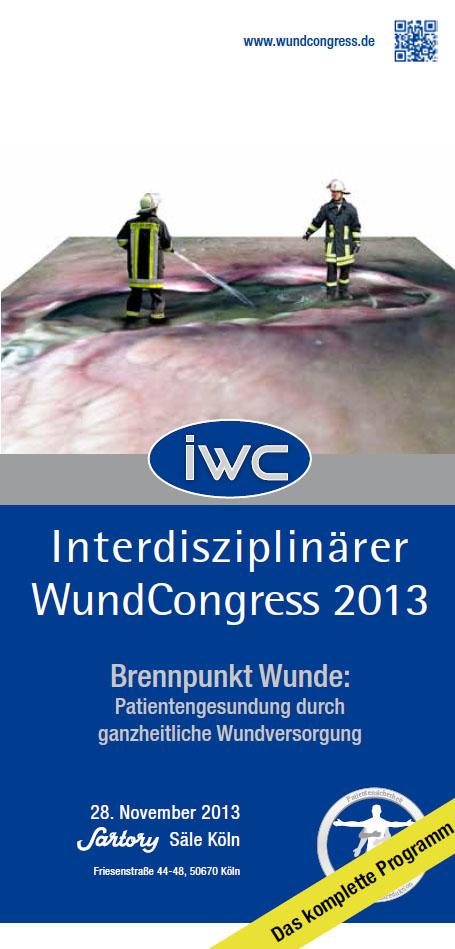 IWC 2013 - der Interdisziplinäre WundCongress