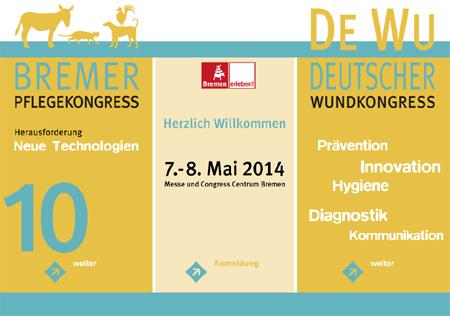 DEWU – Deutscher Wundkongress der ICW e. V. & 10. Bremer Pflegekongress